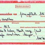 Karte Lebenszeichen 1945 [Archiv IG]