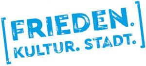 Logo Veranstaltungsreihe FRIEDEN | KULTUR | STADT